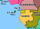Sub-Saharan Africa 1960: French Withdrawal from Equatorial Africa
